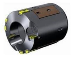 德国BTA组合刀具 BTA深孔钻头内排屑导向键深孔钻镗头合金导向块18*9*58