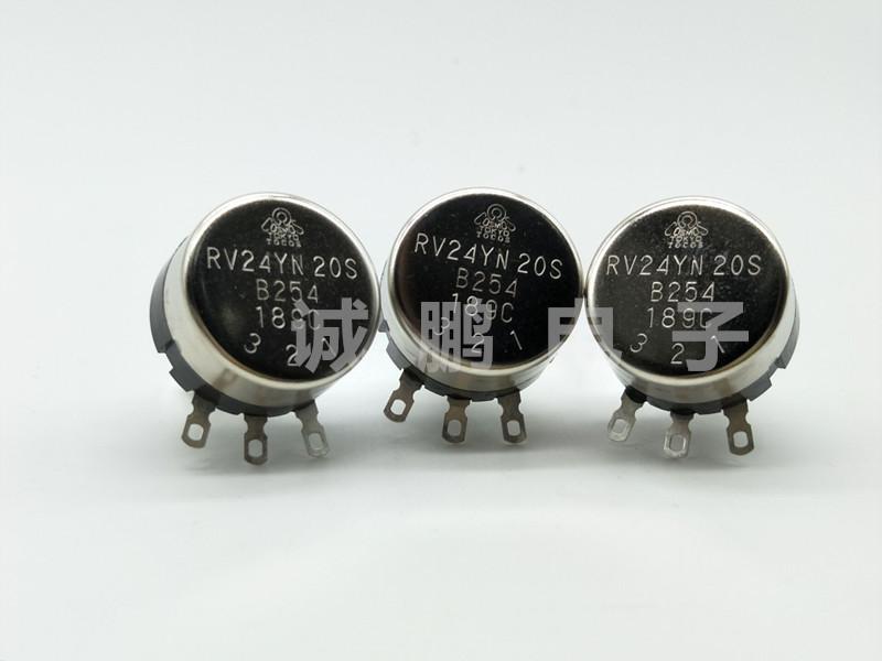 日本TOCOS电位器RV24YN20SB254碳膜电位器