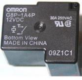 OMRON G8P-1A4P 12VDC欧姆龙继电器30A全新原装正品