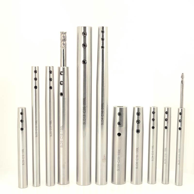 侧固式延长杆微径加工高精度小径抗震直柄加长杆侧锁式数控刀杆