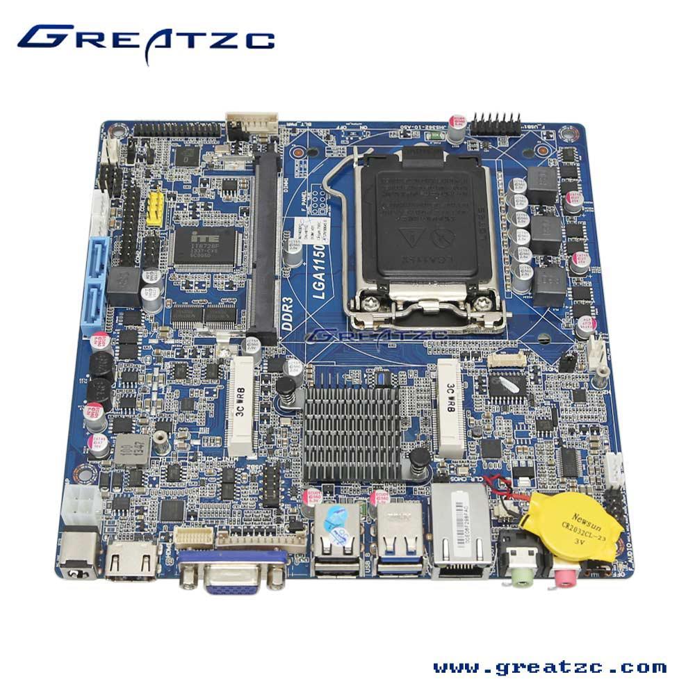 H81超薄工控主板应用于广告机/触摸一体机/POS机/自助查询等
