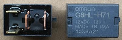 欧姆龙继电器G8HL-H71 12VDC继电器OMRON本田雅阁CRV空调风扇专用