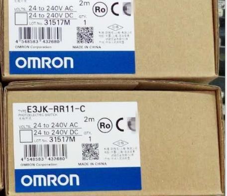 E3JK-DR11-C欧姆龙光电开关 OMRON方形光电传感器 原装