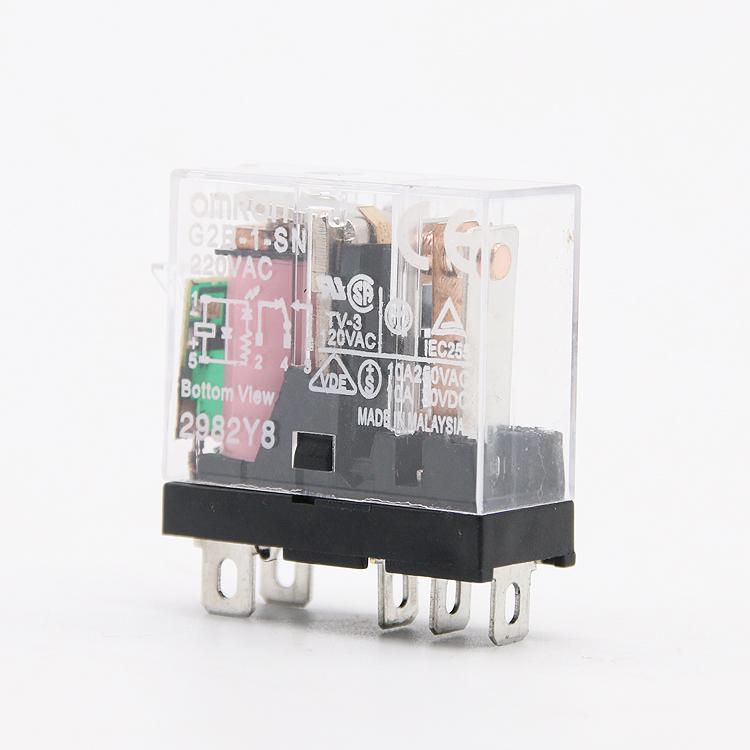欧姆龙小型继电器G2R-1-SN DC24系列 正规渠道 全新正品 假一罚百