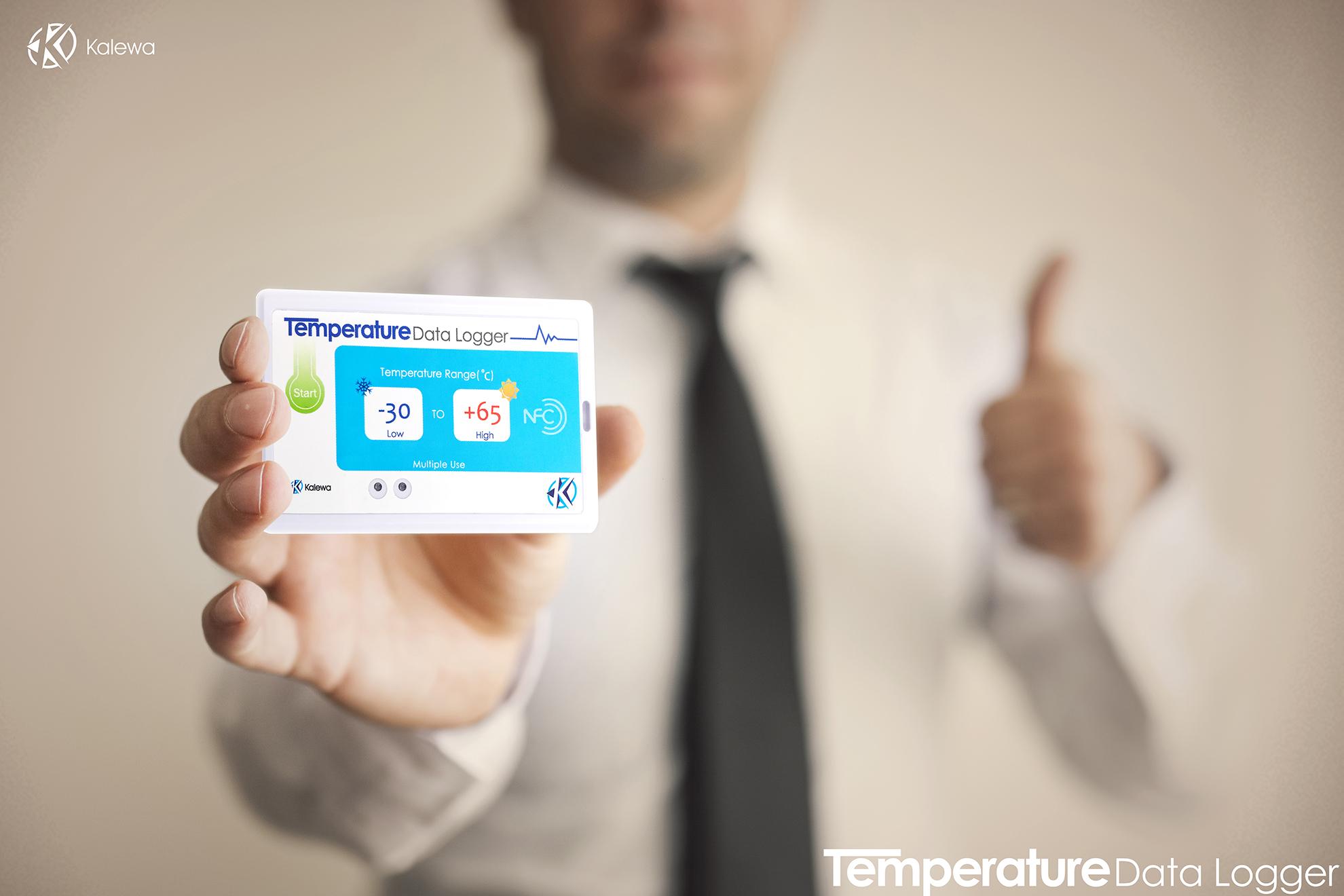 疫苗运输温度记录仪/NFC+UHF双频温感标签/生鲜冷链运输