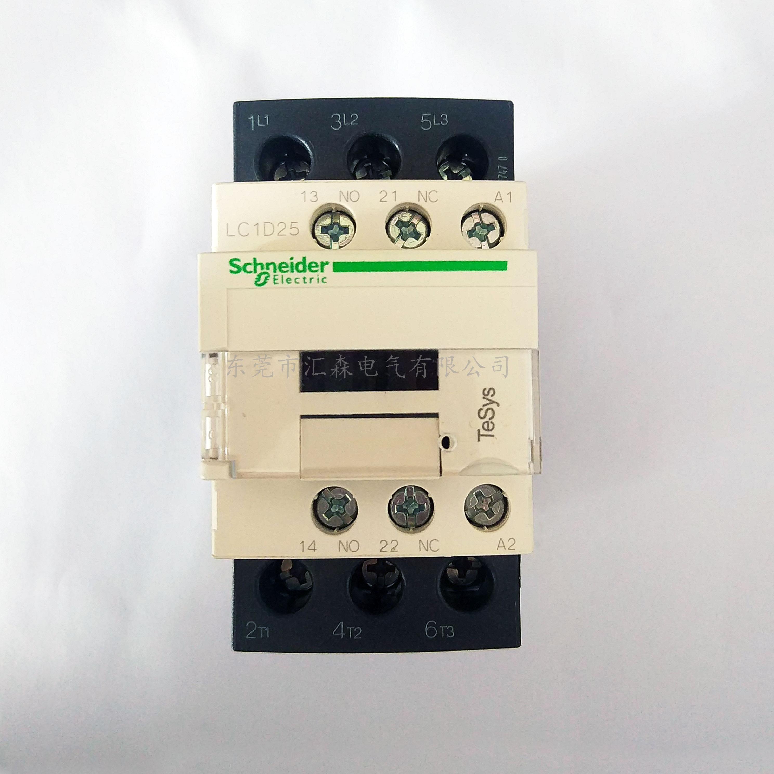 施耐德国产三极交流接触器LC1D25FE7C