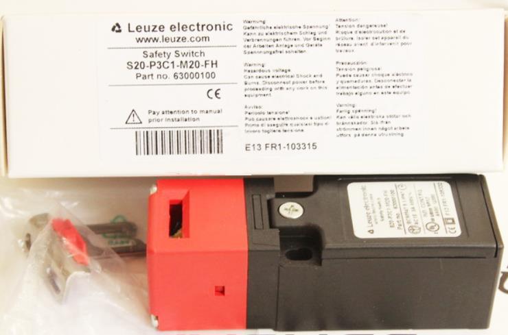 劳易测LEUZE安全门开关 S20-P3C1-M20-FH 全新原装