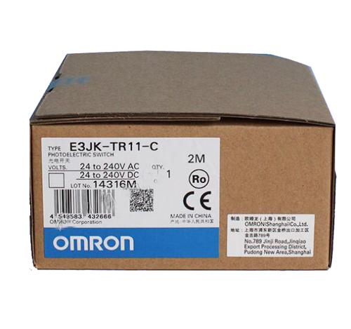 欧姆龙E3JK-TR11-C E3JK-TR12-C光电开关OMRON传感器全新原装正品