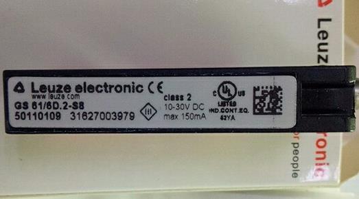 Leuze劳易测 GS 61/6D-S8 光电开关