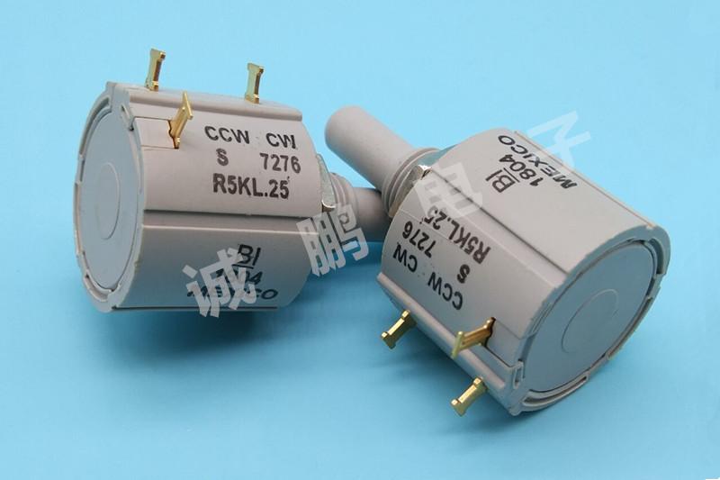 7276R5KL.25精密电位器 美国原装进口BI绕线电位器 可调电阻