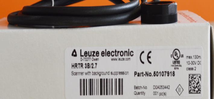 Leuze HRTR 3B/2.7劳易测背景抑制光电开关可检测黑色物体