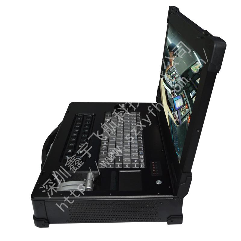 19寸定制便携式导播录播直播一体机工业便携机工控电脑笔记本