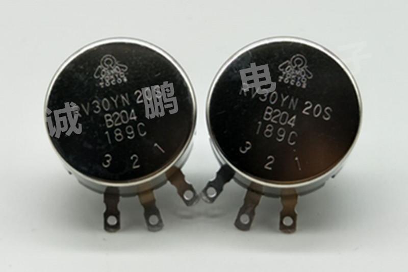 日本TOCOS电位器RV30YN20SB204单圈电位器