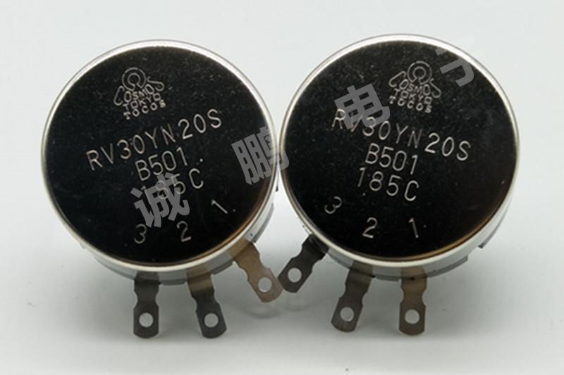 日本TOCOS电位器RV30YN20SB501碳膜电位器