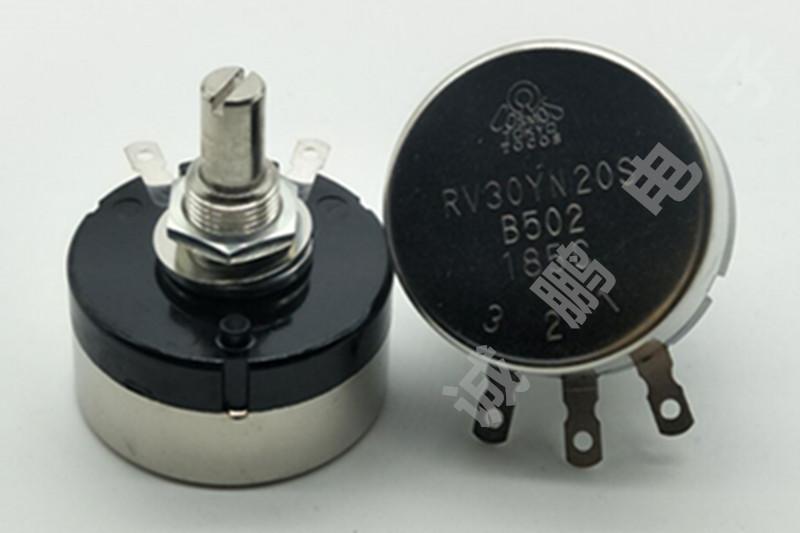 日本TOCOS电位器RV30YN20SB502单圈电位器