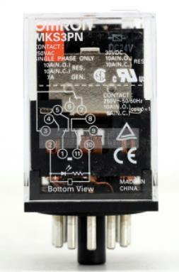 MKS3PN AC220V 欧姆龙 继电器 MKS3PN DC24V