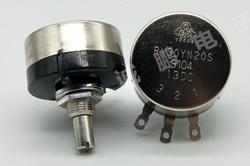 日本TOCOS电位器RV30YN20SB104单圈电位器