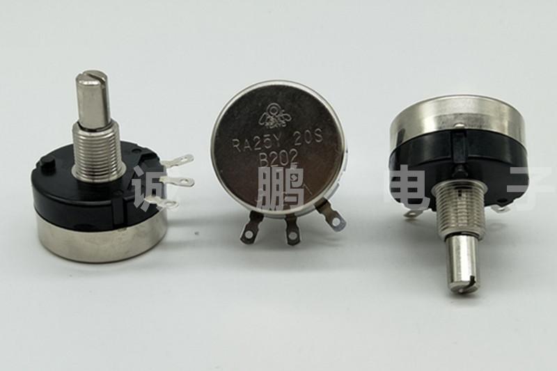 日本TOCOS电位器RA25Y20SB202线绕电位器