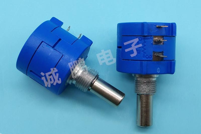 美国原装正品 BOURNS 3590S-2-502L 线绕 精密 多圈电位器