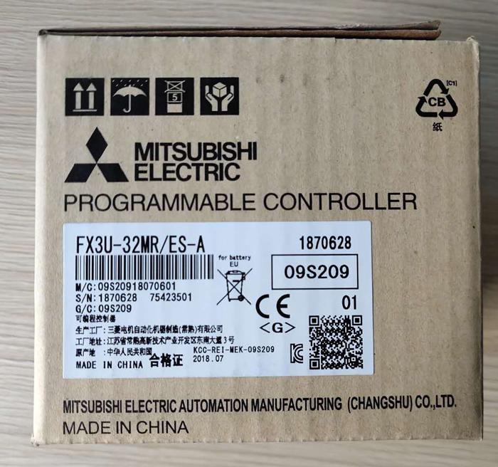 三菱可编程控制器FX3U-32MR/ES-A全新原装PLC深圳现货