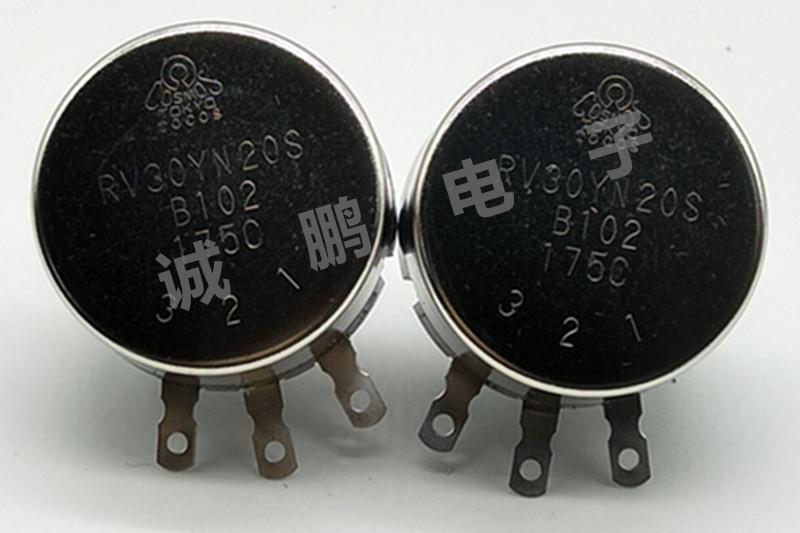 日本TOCOS电位器RV30Y20SB102碳膜电位器