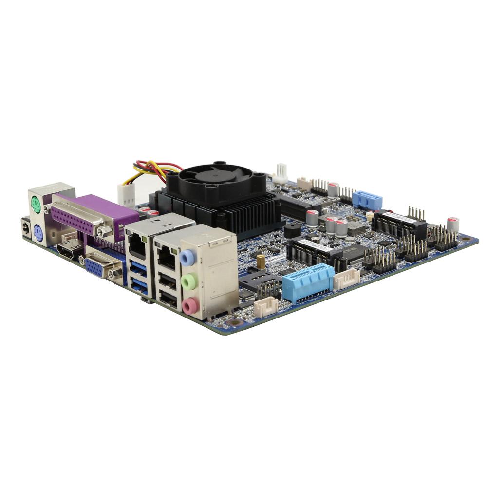 3855U多功能工控主板支持4K广泛应用自助设备/工业设备/数字标牌