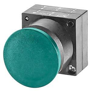 西门子平头按钮3SB6160-0AB40-1BA0