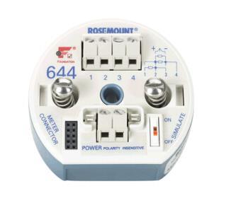 罗斯蒙特温度变送器644HANAM5J5