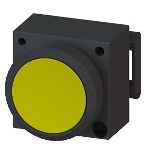 西门子平头按钮3SB6160-0AB60-1BA0