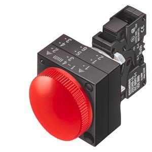 西门子带灯平头按钮3SB6166-0DB30-1BA0