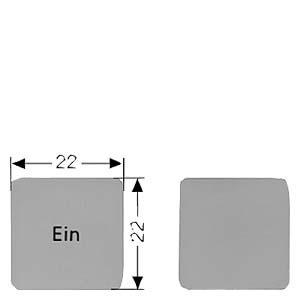 西门子按钮指示灯附件标牌3SB1906-2AA