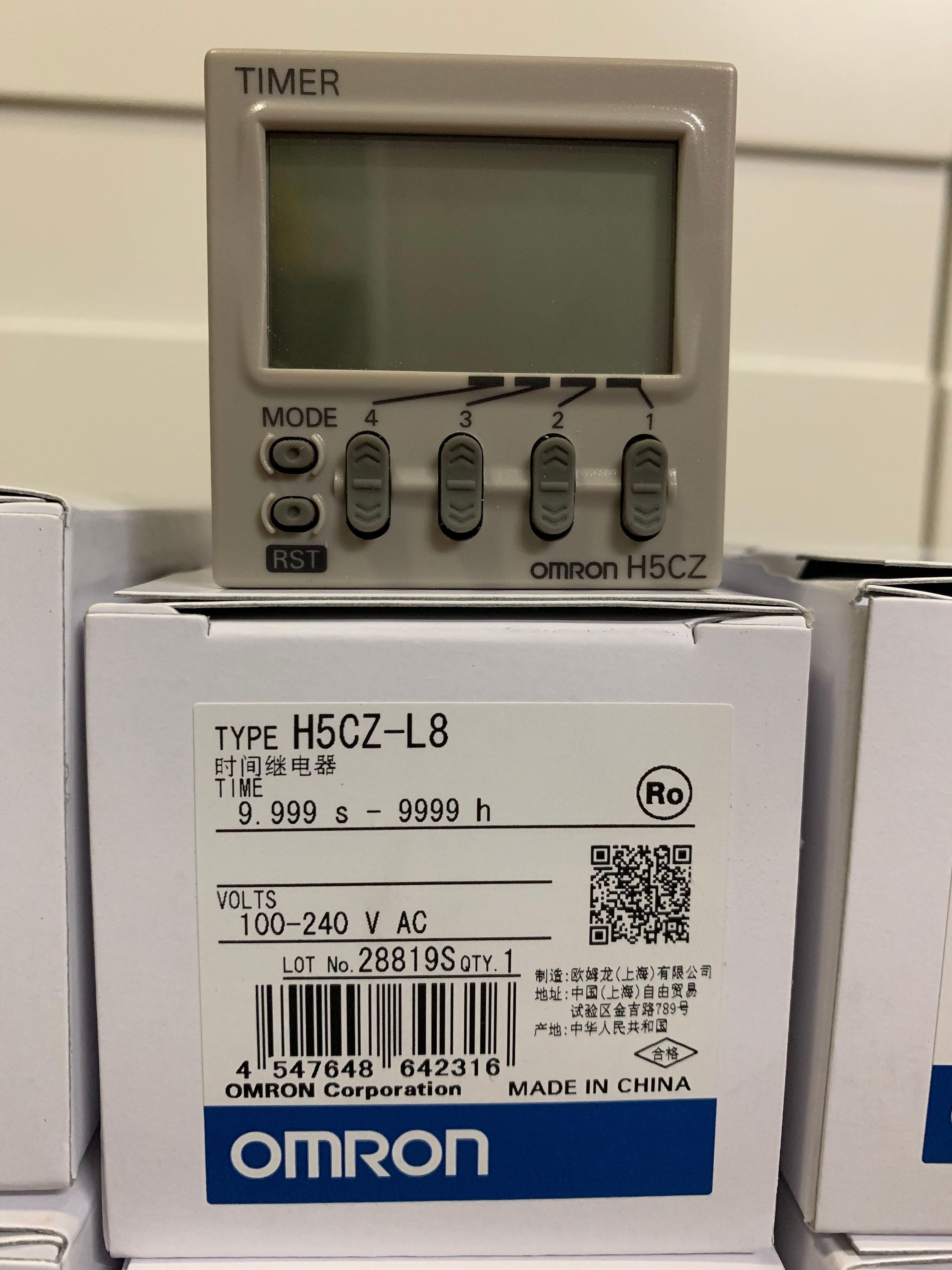 欧姆龙时间继电器H5CZ-L8正规渠道 全新正品 假一罚百