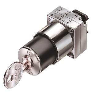 西门子钥匙开关3SB3500-4QD01