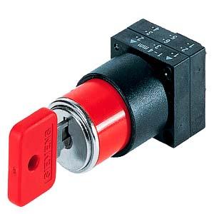 西门子钥匙开关3SB3000-3AH01