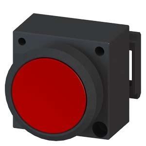 西门子 按钮指示灯附件蘑菇型按钮头3SB3501-1GA71